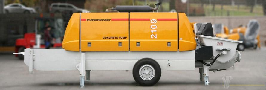 Стационарный бетононасос Putzmeister 2109 HD