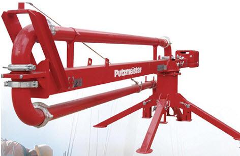 Механическая распределительная стрела Putzmeister RV 12 Lift