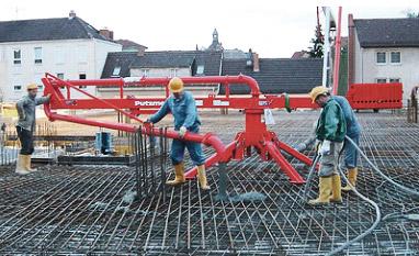 Механические бетонораспределительные стрелы