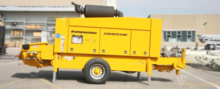 Стационарный бетононасос Putzmeister BSA 14000 HP-D/E