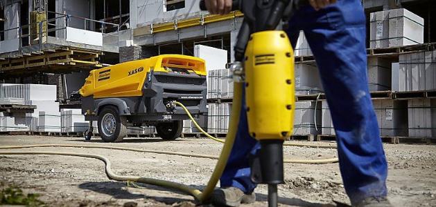 Применение компрессоров в строительстве